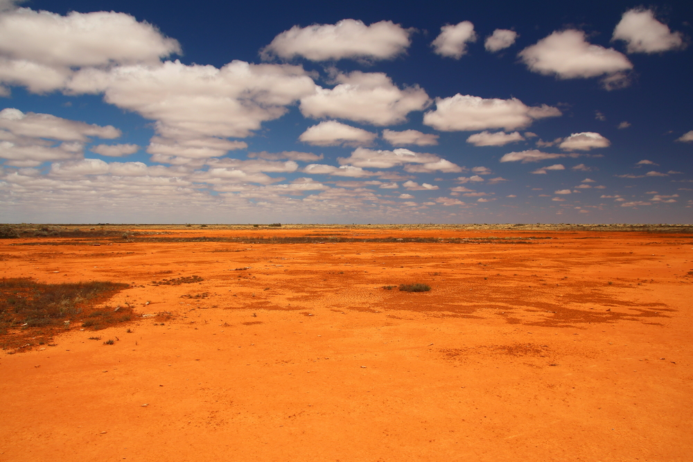 Badlands in Australië