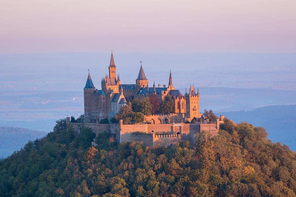 Burg Hohenzoller Zwarte Woud