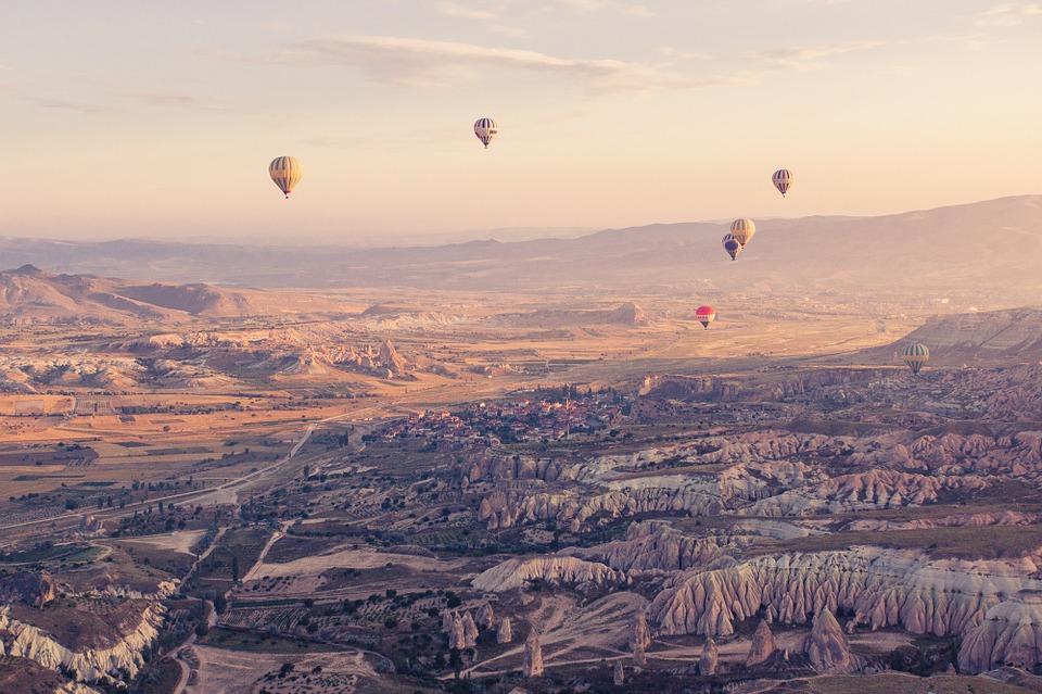 Cappadocië luchtballonnen