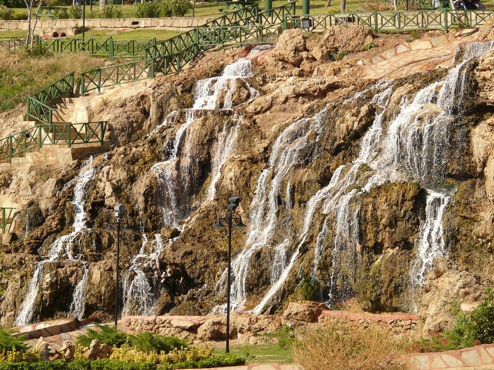 Düden watervallen turkije