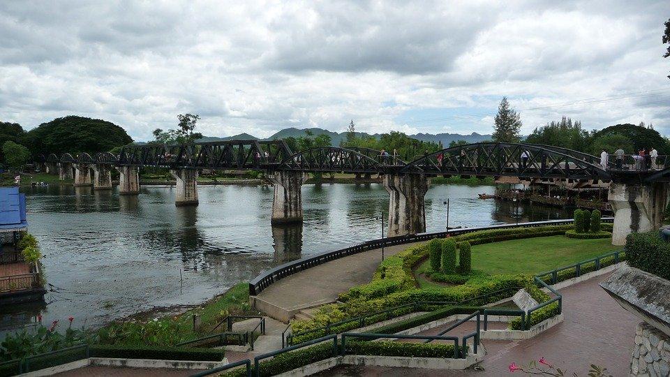 Kanchanaburi brug thailand