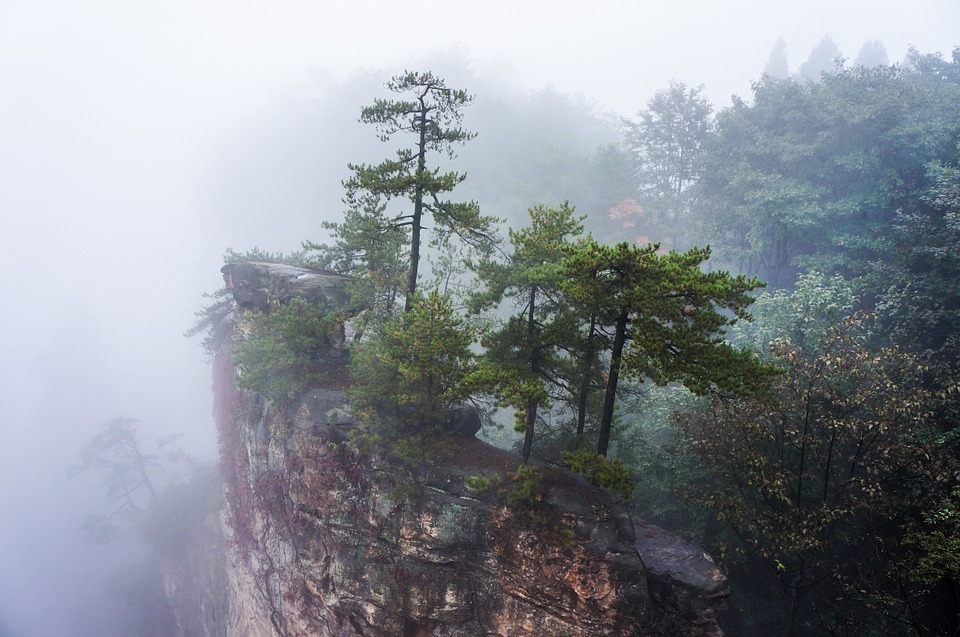 Zhangijajie nationaal park china