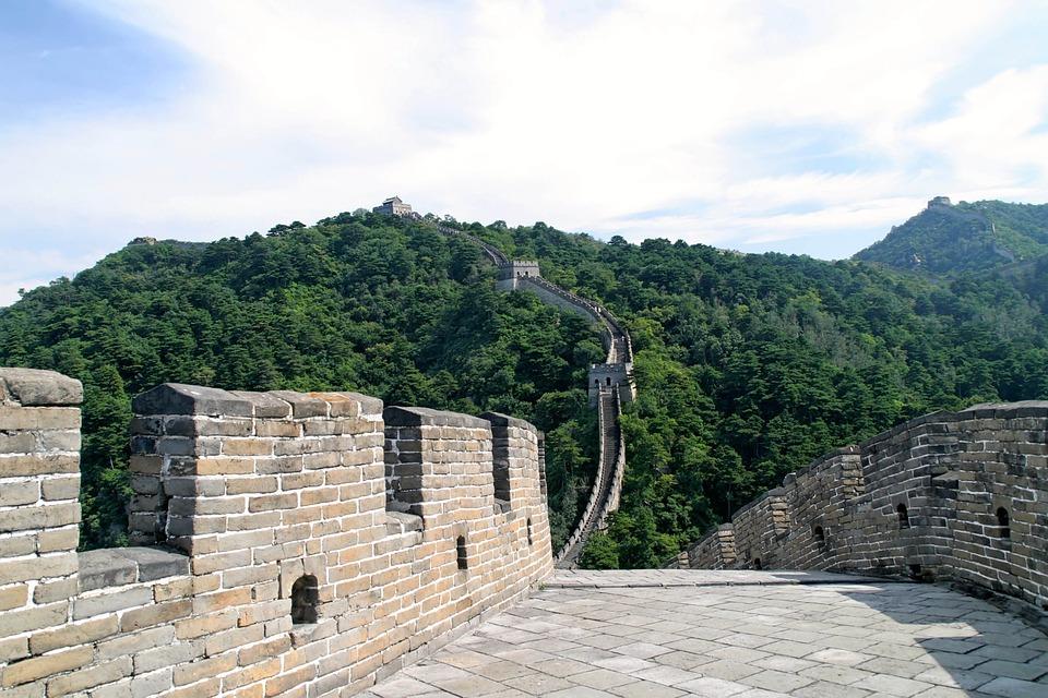 chinese muur china mooiste plek