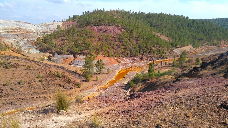 mijnen van Riotinto in Andalusië