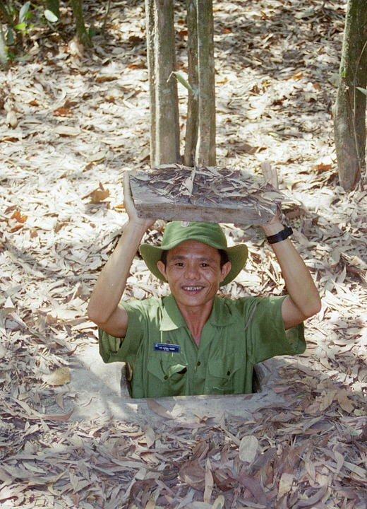 Cu Chi tunnels vietnam vietcong