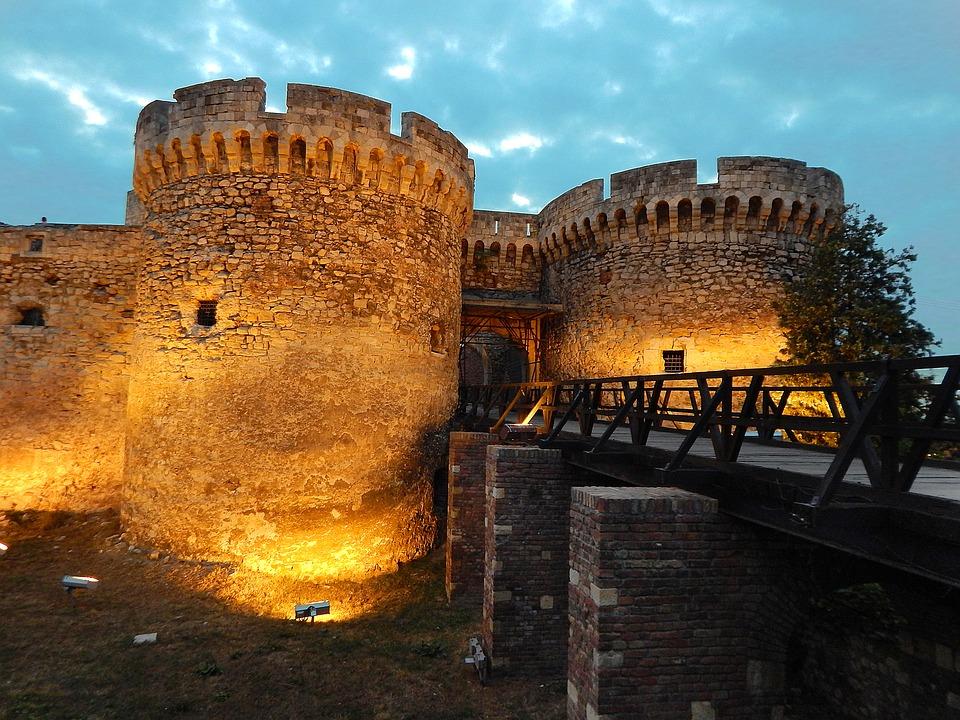 Kalemegdan fort belgrado