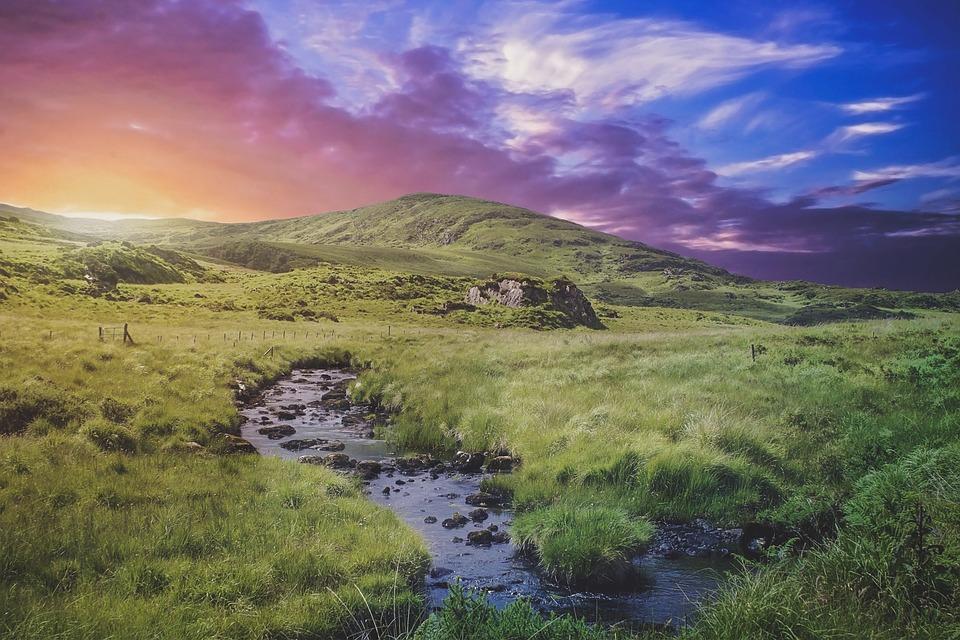 Ierland wandelen