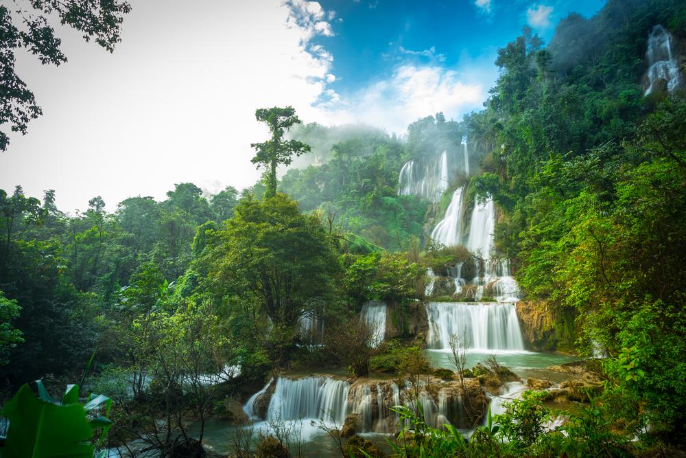 Thi Lor Su watervallen thailand