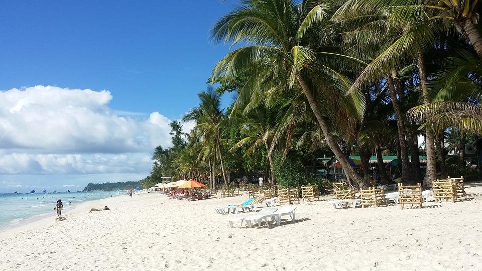 White Beach, Filippijnen