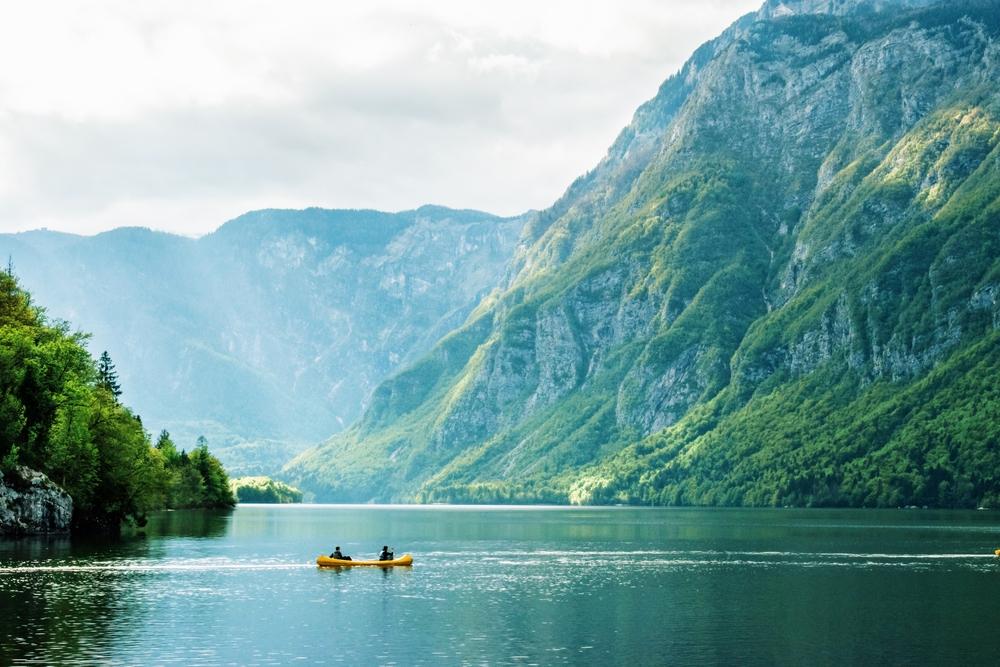 kanoën slovenie