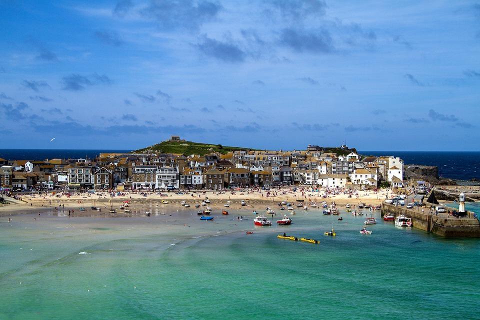 Cornwall engeland surfen