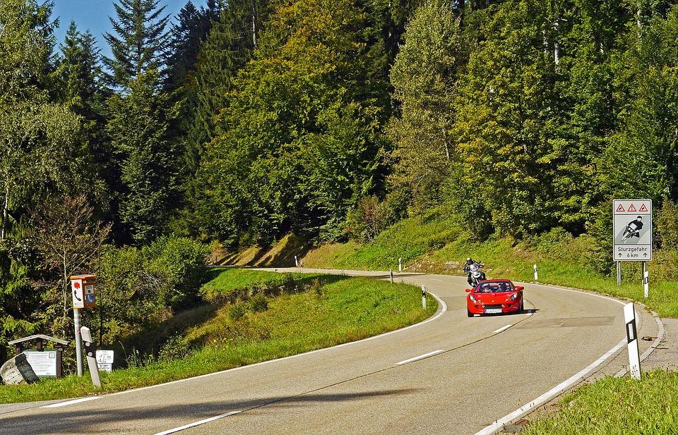 Schwarzwaldhochstrasse autoroute europa