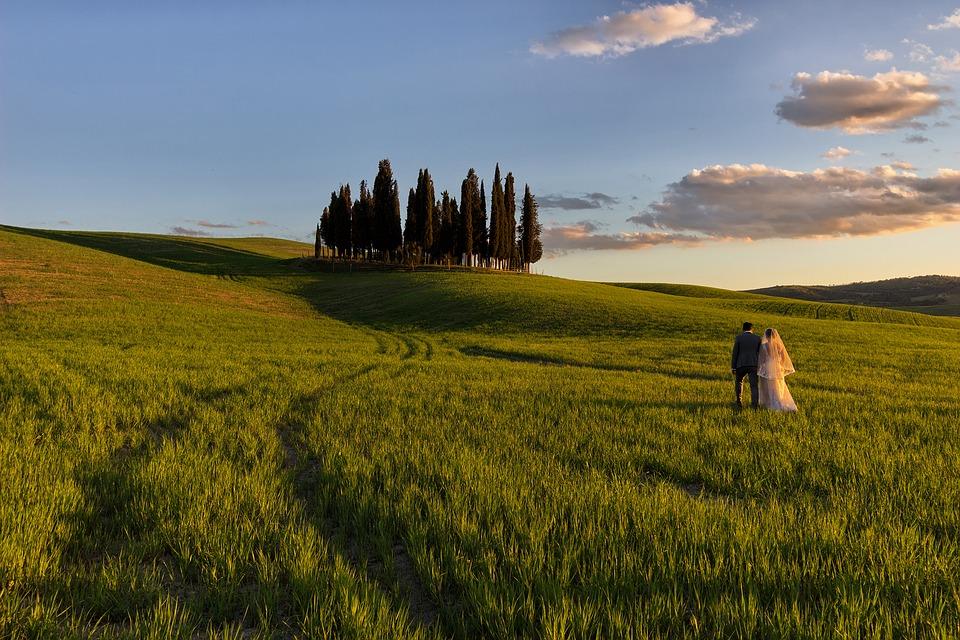 Trouwen Toscane Europa