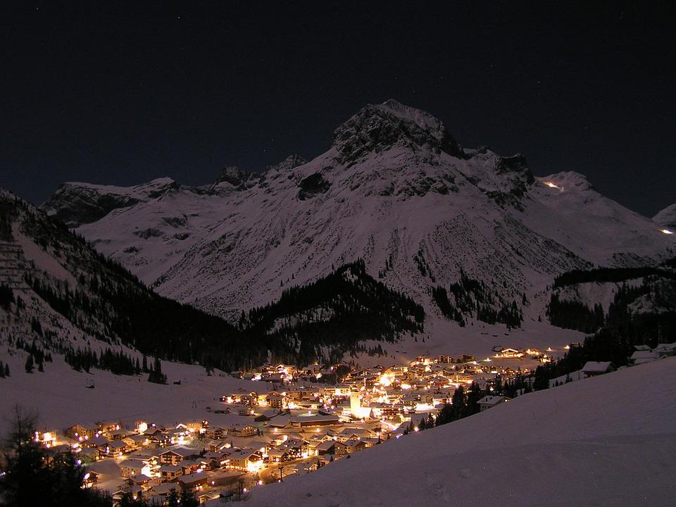 Arlberg skigebied