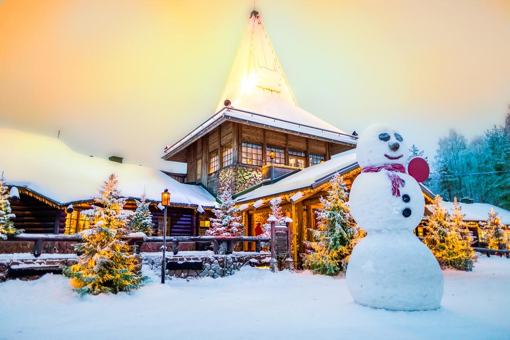 Rovaniemi Kerstmis