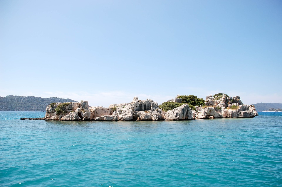 Kekova island turkije